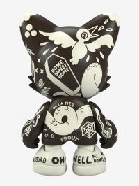 Gallery Image of Oh-No BlackOut UberJanky Designer Collectible Toy