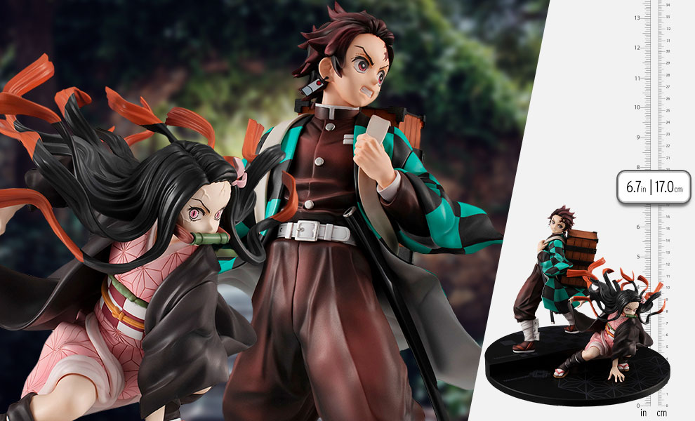 Gallery Feature Image of Precious G.E.M. Kamado Brother & Sister Collectible Set - Click to open image gallery
