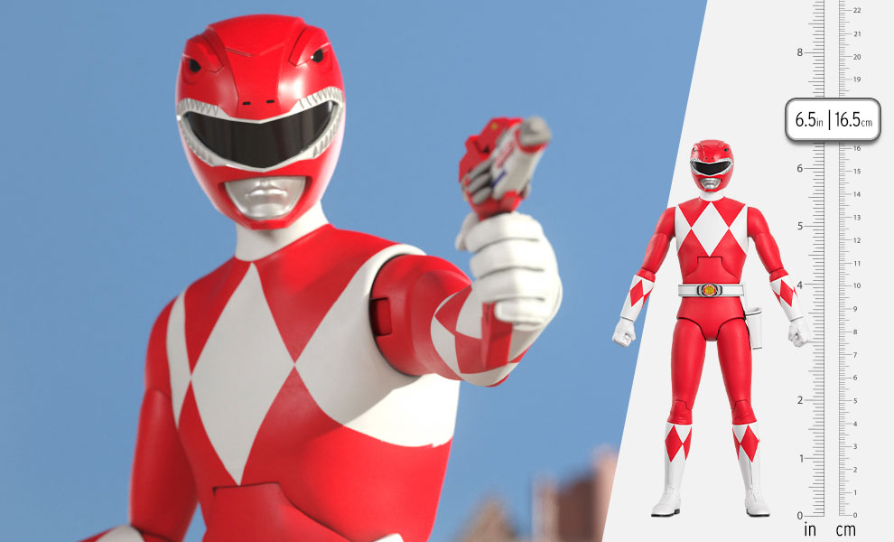 Gallery Feature Image of Red Ranger Action Figure - Click to open image gallery