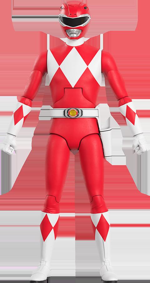 Super 7 Red Ranger Action Figure
