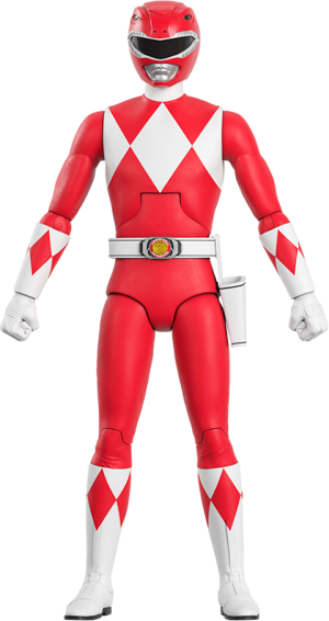 Red Ranger Action Figure