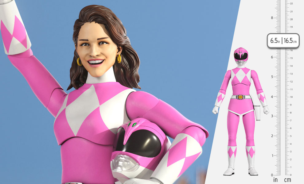 Gallery Feature Image of Pink Ranger Action Figure - Click to open image gallery