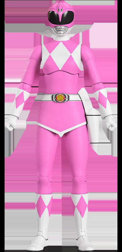 Super 7 Pink Ranger Action Figure