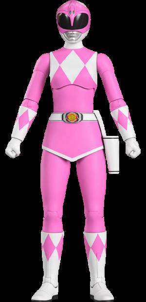 Pink Ranger Action Figure