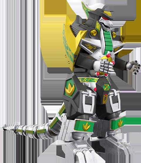 Super 7 Dragonzord Action Figure