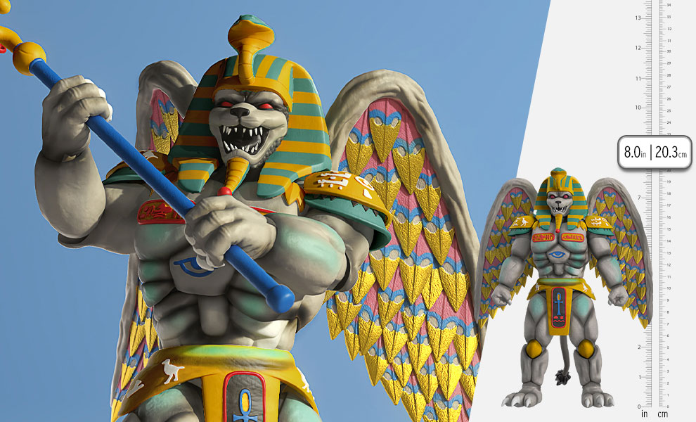 Gallery Feature Image of King Sphinx Action Figure - Click to open image gallery