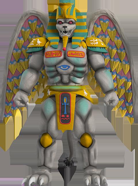 Super 7 King Sphinx Action Figure