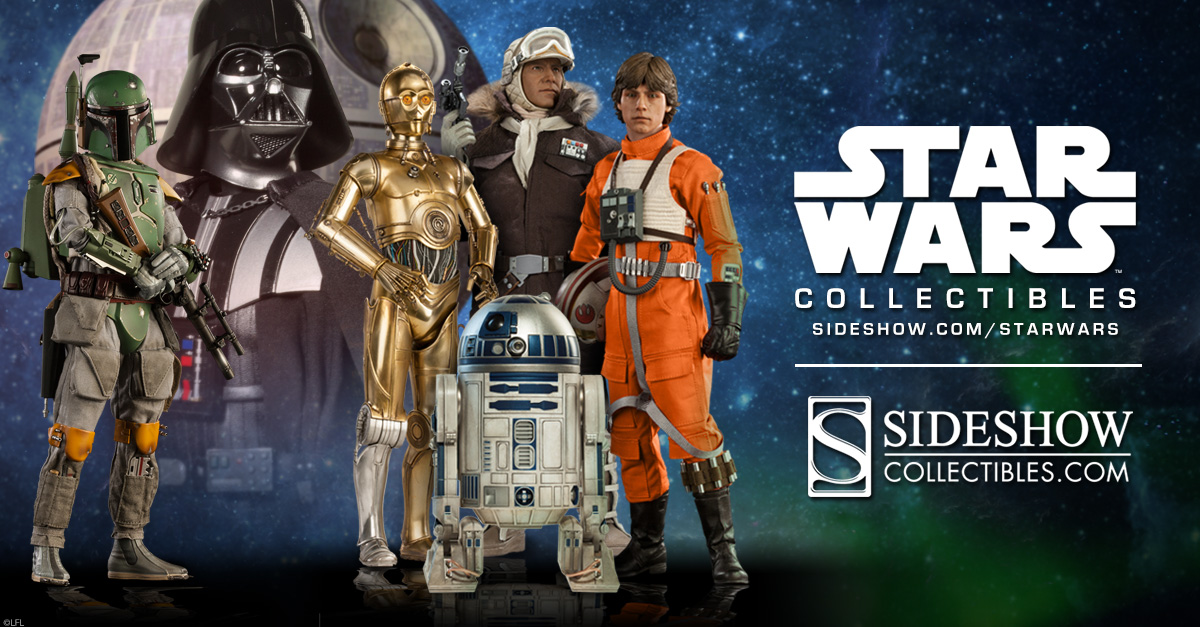 star wars collectible figures sideshow collectibles. Black Bedroom Furniture Sets. Home Design Ideas