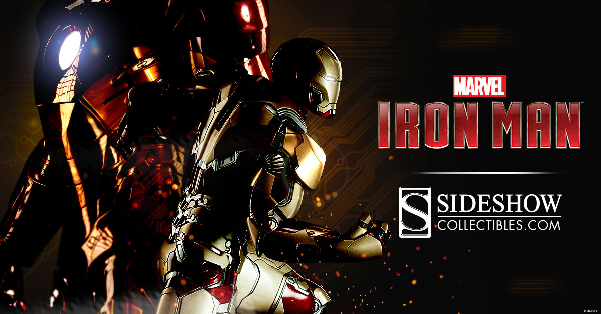 iron man figures sideshow collectibles
