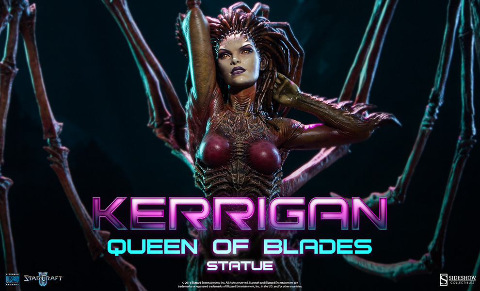 Kerrigan Statue Preview