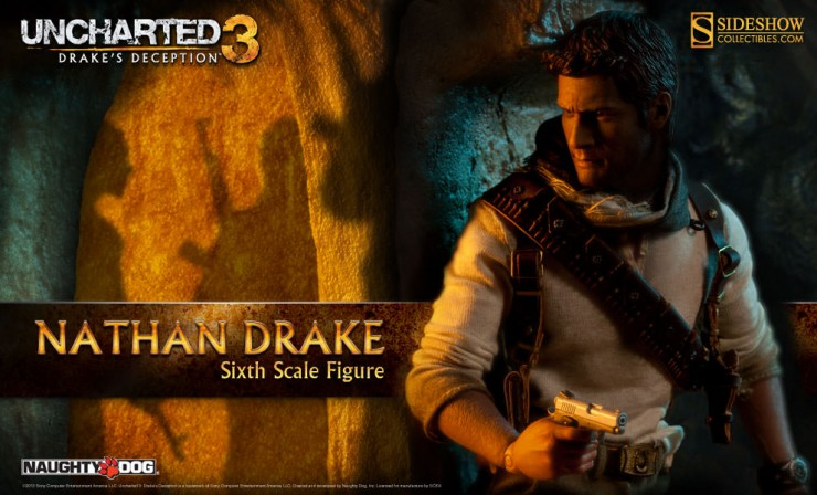 Nathan Drake Sixth Scale Figure Preview