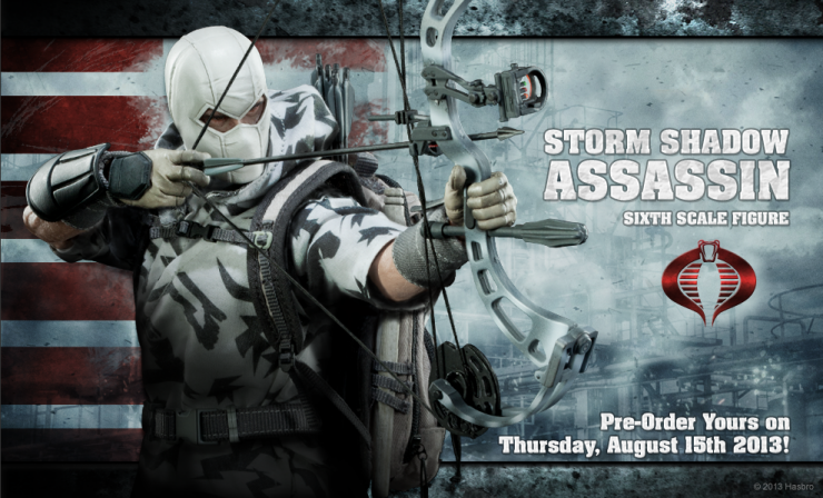Storm Shadow Sixth Scale Figure Preview