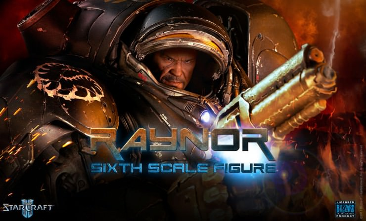 Raynor Sixth Scale Figure Preview