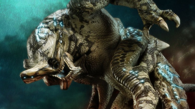 Incoming Kaiju, Slattern from Pacific Rim!
