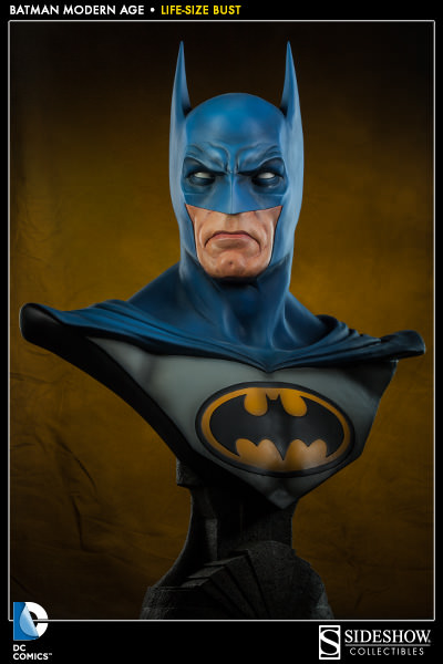 Get a closer look at the Batman 'Modern Age' Life-Size Bust!