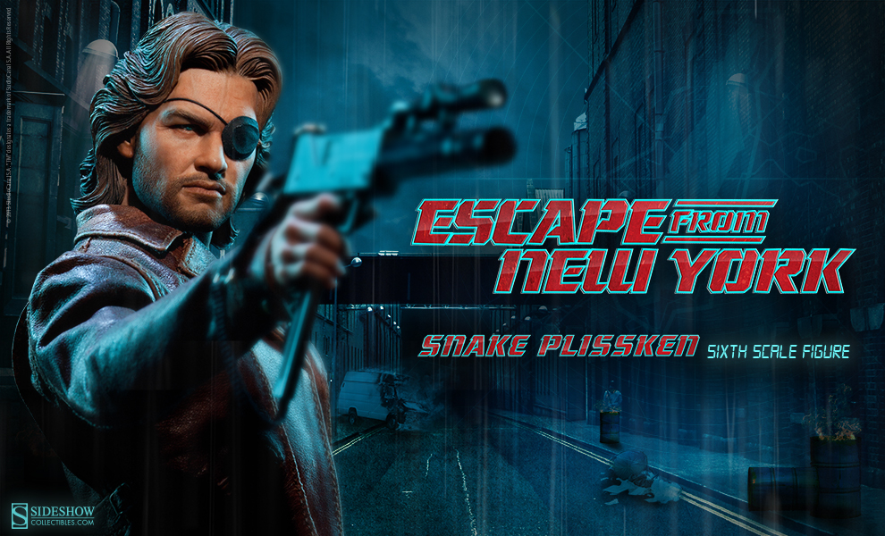 [Sideshow] Snake Plissken - Sixth Scale Figure  Preview-snake-Size