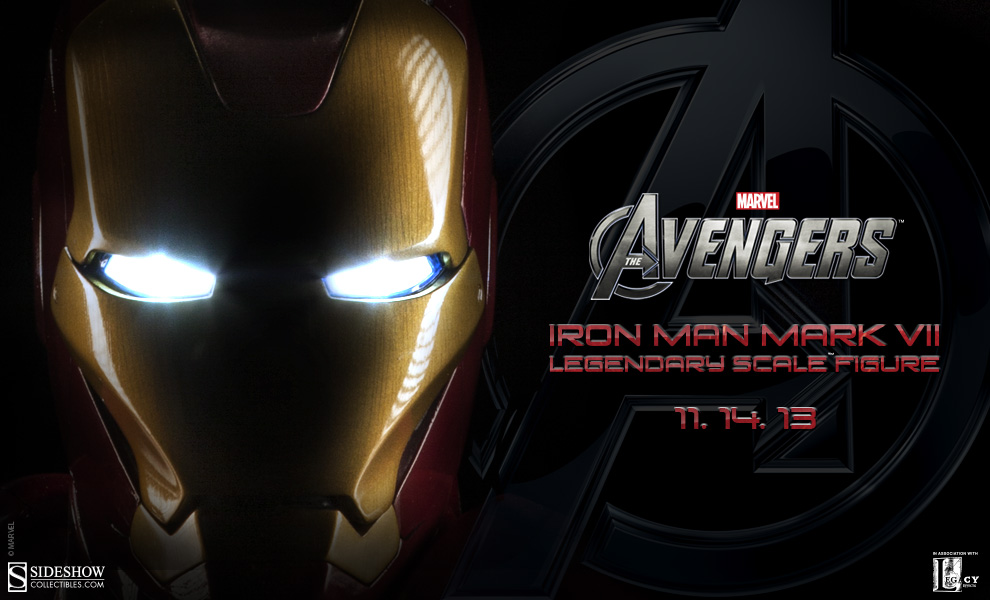 400186 Iron Man Mark VII Legendary Scale Figure Preview 02