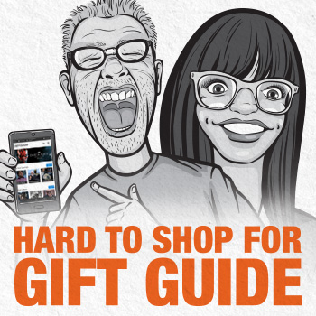 Hard to shop for Gift Guide Collectibles