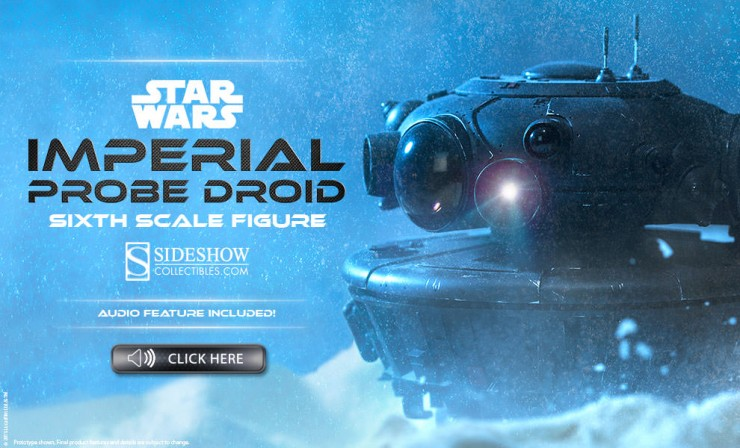 Imperial Probe Droid Preview
