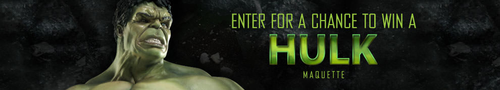 AICN Hulk Maquette Giveaway!