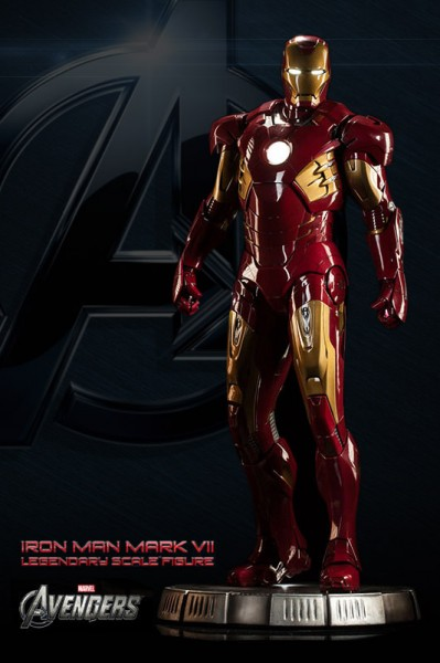 Sir, the Iron Man Mark VII Legendary Scale™ Figure is ready to deploy