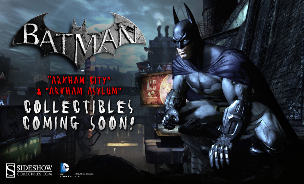 Batman Arkham Collectibles Preview