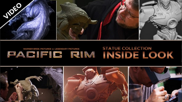 Inside Look: Pacific Rim Statue Collection
