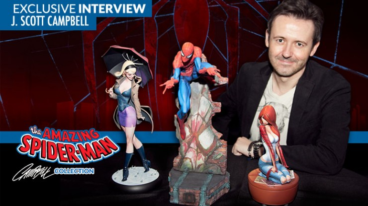 Interview with J. Scott Campbell at San Diego Comic-Con!