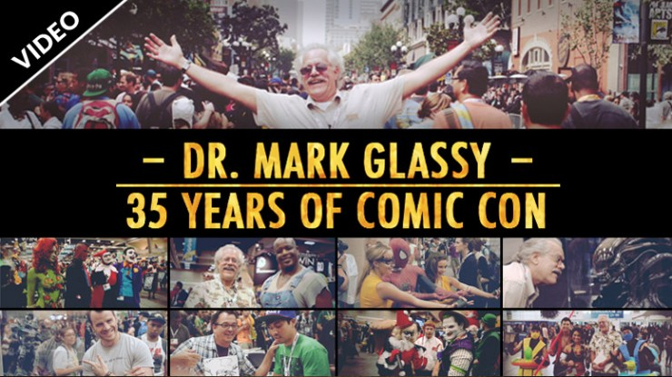 Dr. Mark Glassy: 35 Years of Comic Con