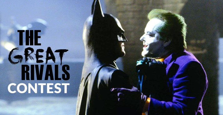 Batman and the Joker – 'The Great Rivals' contest winner