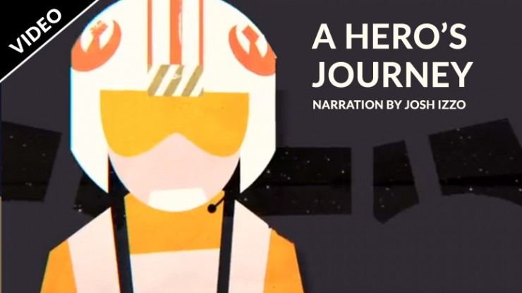 'A Hero's Journey' – the saga of Luke Skywalker