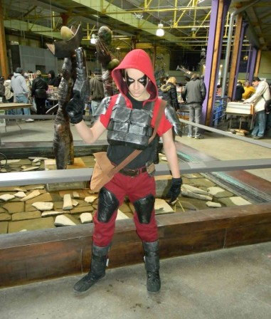Zartan, master of make-up and disguise!