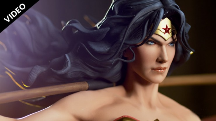 Production Peek: Wonder Woman Premium Format Figure