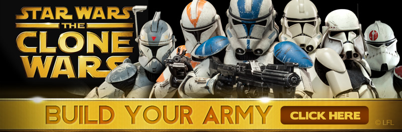Star Wars: The Clone Wars Build Your Army!