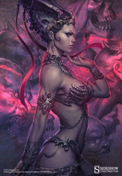 """Queen of the Dead illustration by Stanley """"Artgerm"""" Lau"""