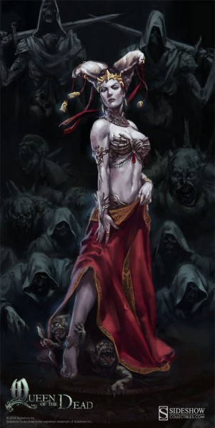 Queen of the Dead illustration by Ian MacDonald