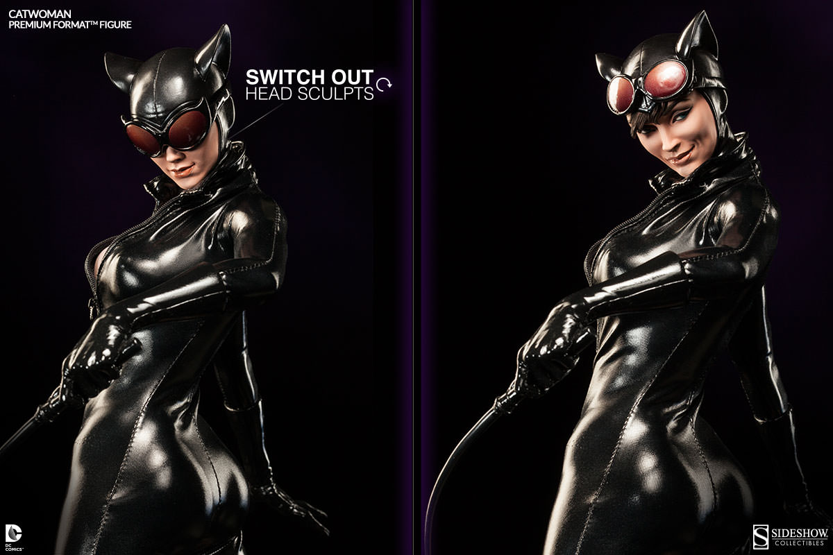 Catwoman whips up some action! : Sideshow Collectibles