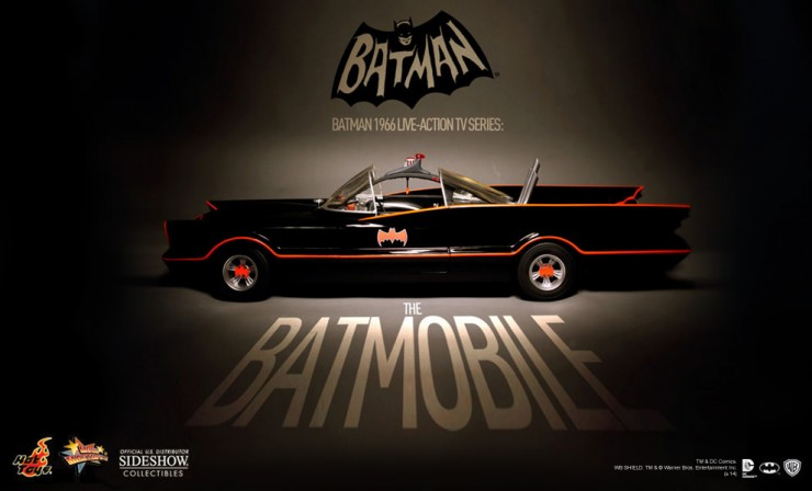 Hot Toys 1966 TV Series Batmobile Preview