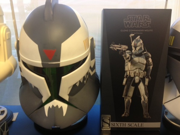 Director Dave Filoni gets his hands on Sideshow's Commander Wolffe
