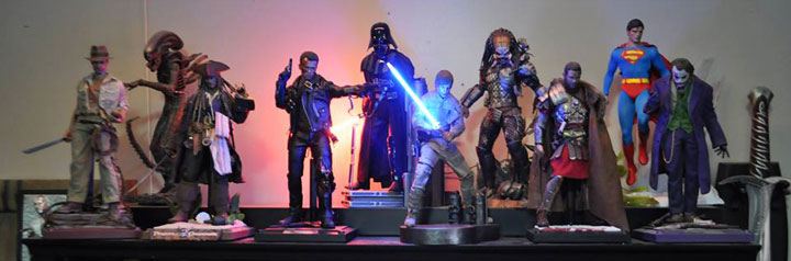 "Sideshow Collectibles Featured Collector Joshua ""Rzeznikk"" Geier"