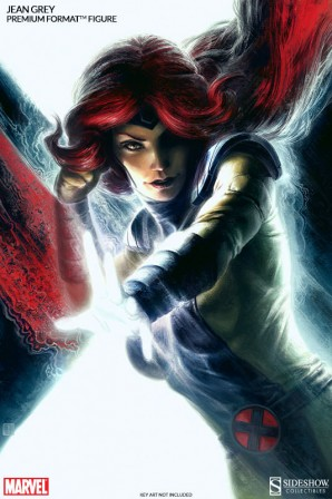 Jean Grey Key Art by Fabian Schlaga