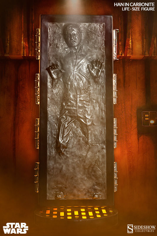 STAR WARS: HAN SOLO IN CARBONITE Life size figure 400072_press01