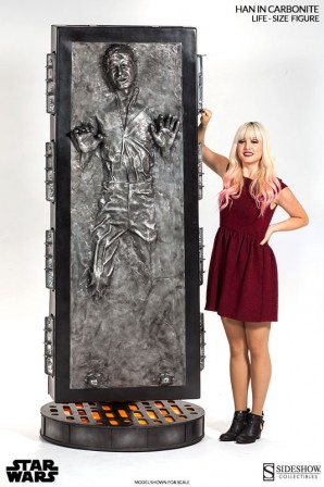 Han Solo in Carbonite Life-Size Figure