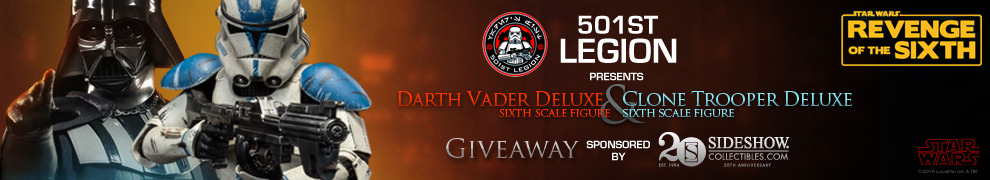 Revenge of the Sixth 501st Legion Giveaway