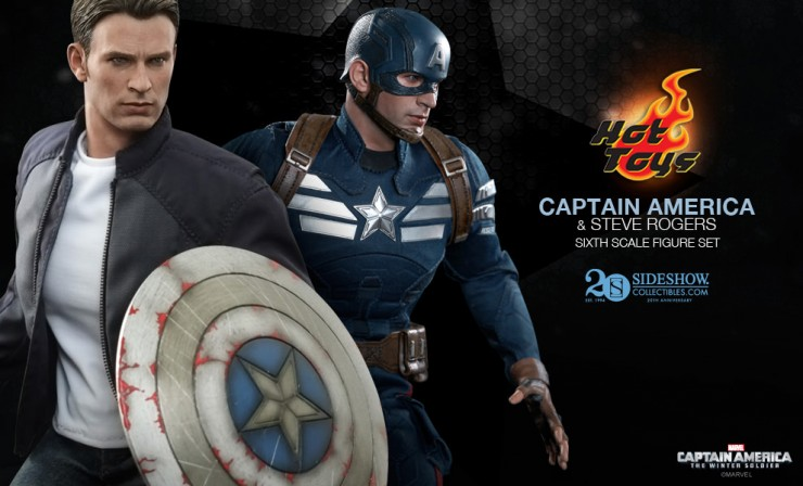 Hot Toys Steve Rogers and Captain America Preview