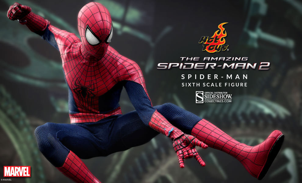 New Spider Man 2 Toys : Hot toys the amazing spider man sideshow collectibles