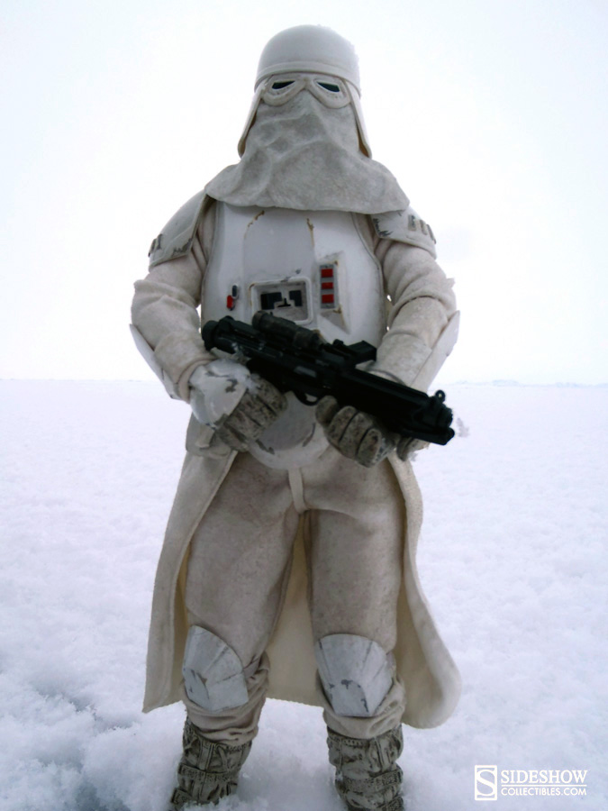 Snowtrooper Sixth Scale Figure in the arctic