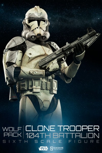 Howl Wolfpack! 104th Battalion Clone Troopers coming soon