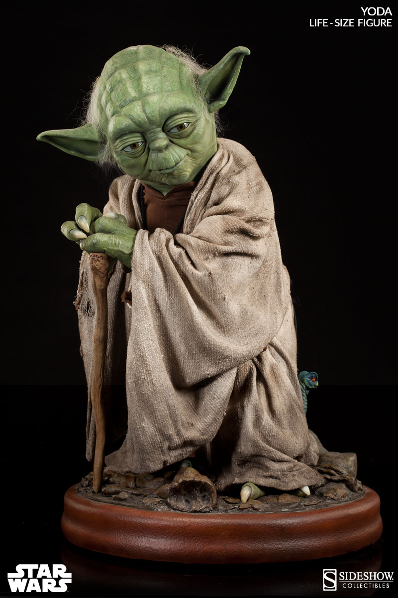 yoda you seek a life size yoda sideshow collectibles. Black Bedroom Furniture Sets. Home Design Ideas