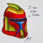 Clone Trooper art by Amy L.